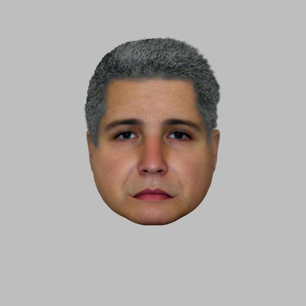 An e-fit likeness of a man police would like to speak to regarding the incident in Lavenham. (6615205)