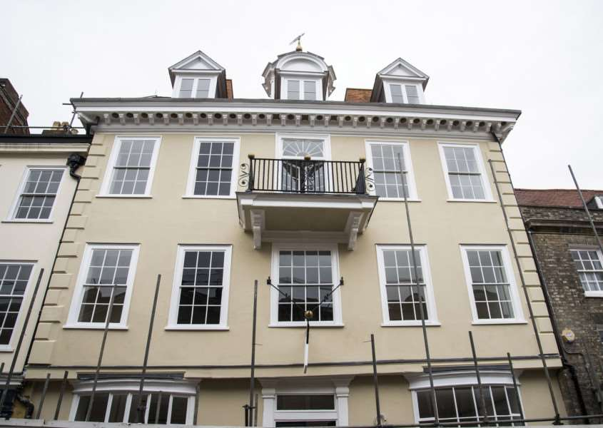 The newly restored restored Cupola House looks set for lobster and steak Picture Mark Westley ANL-160629-175147009