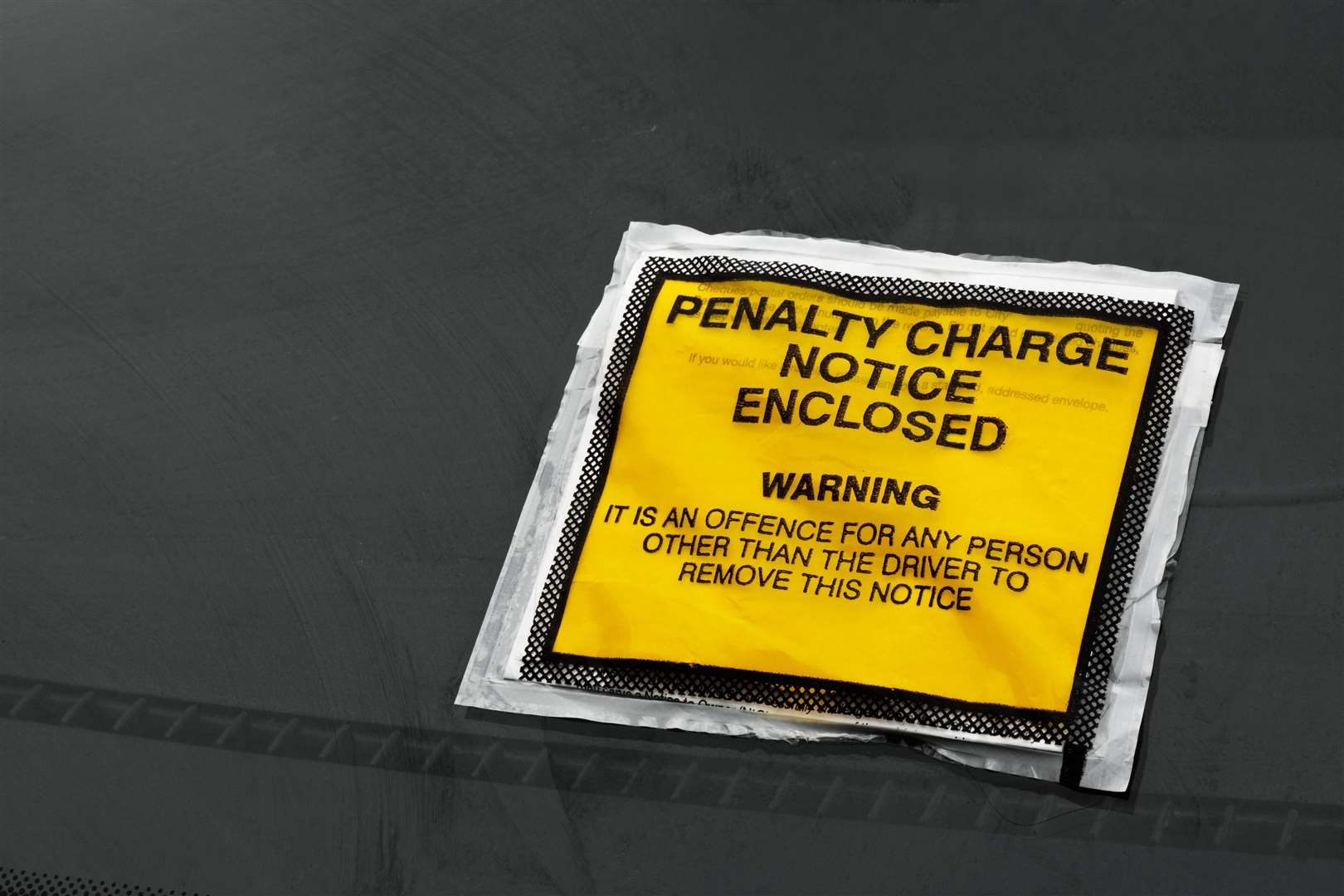 Parking ticket. Picture: Getty Images.