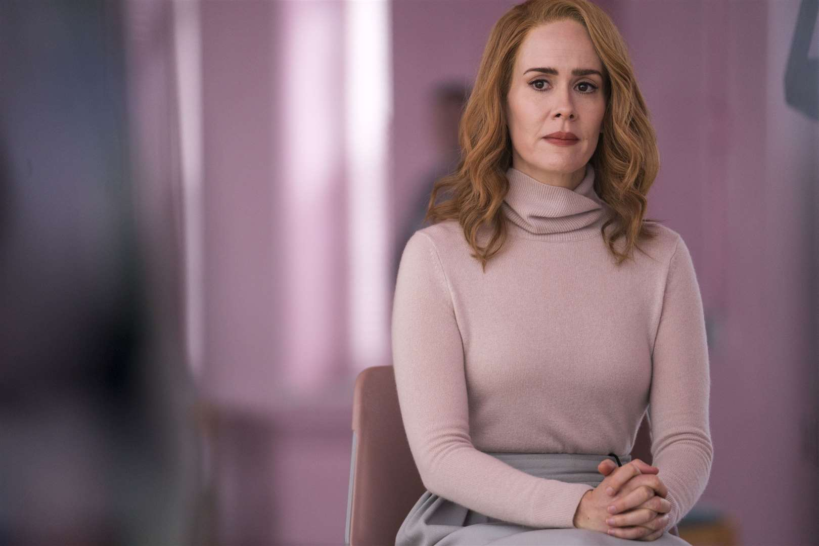 Sarah Paulson as Dr Ellie Staple in Glass. PA Photo/Universal Pictures/Jessica Kourkounis.