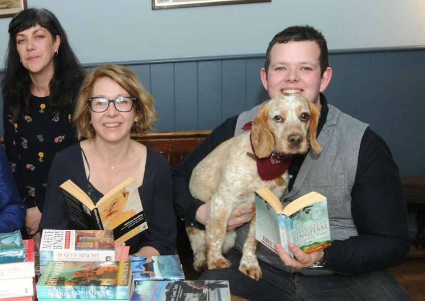 Jackie Carreira, from Quirkhouse Theatre, Susan Wilde and Cam Brown are among those hoping to hold a Literary Festival in Bury St Edmunds