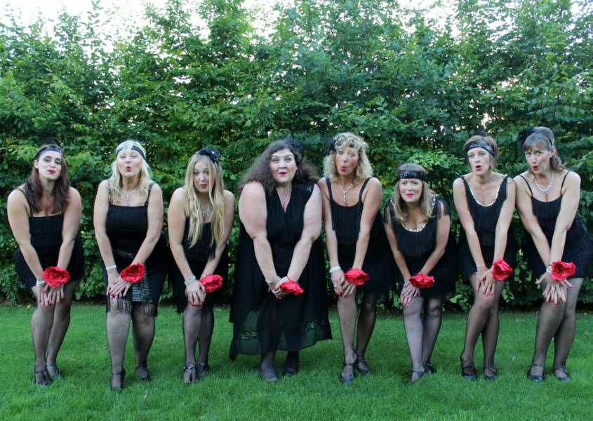 The 'Hot Mamas' have made it through to the Ipswich Has Got Talent final ANL-150610-164746001