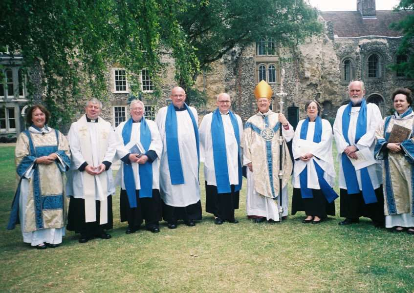 The new Readers who were ordained by the Rt Rev Martin Seeley, Bishop of St Edmundsbury and Ipswich