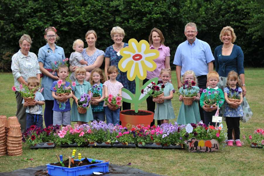Busy Green Fingers award scheme for pre-schools and nurseries
