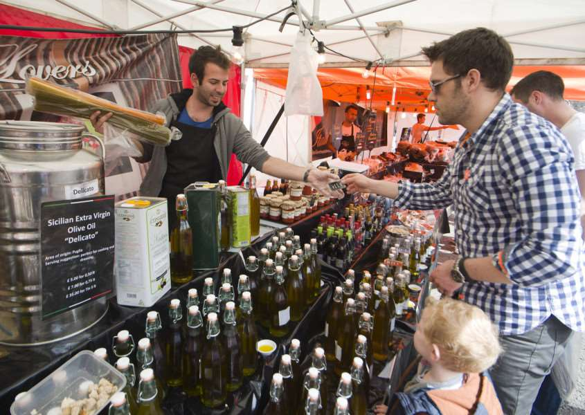 Mark Westley Photography'SUDBURY: French market to celebrate twin town'Market Hill. ANL-150405-234909009