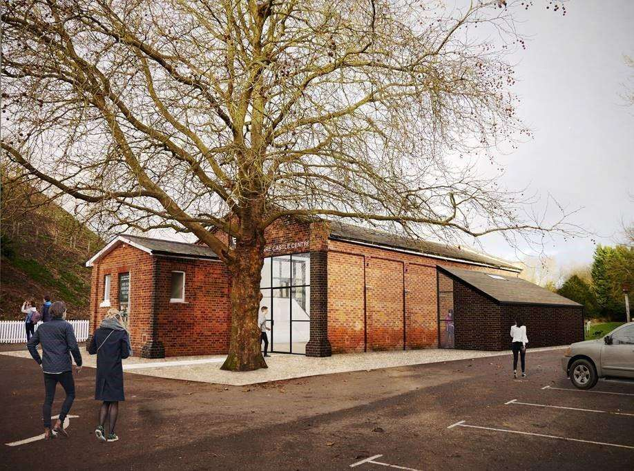 How Clare Park Centre would look from the outside once it has been refurbished (5585568)
