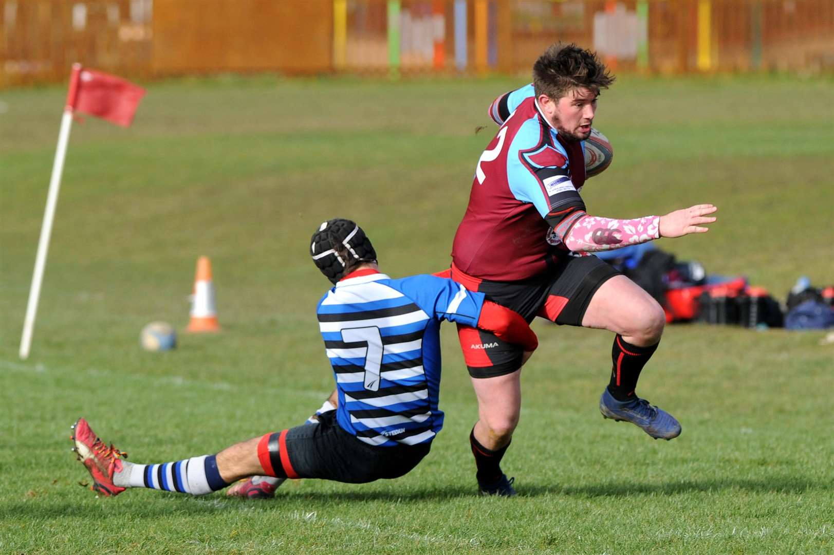 RUGBY - Haverhill v Sawston..Pictured: Will...PICTURE: Mecha Morton. (7130634)