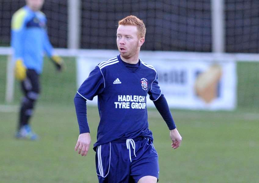 NEW BOSS: Shane Wardley has been named the new manager at Hadleigh United Picture: Mecha Morton