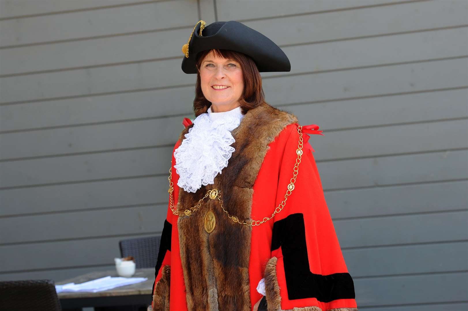 Cllr Margaret Marks, the mayor of St Edmundsbury. A meeting next week will discuss the future of civic leadership in West Suffolk. Picture: Mecha Morton.