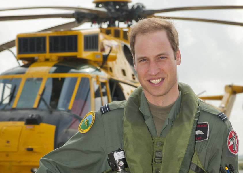The Duke of Cambridge returns to work with the East Anglian Air Ambulance based at Cambridge Airport. EMN-140708-092120001