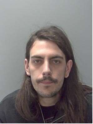 Andrew Kinsella. Picture by Suffolk Constabulary
