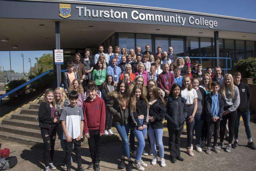 THURSTON: Thurston Community College has been rated 'good' by Ofsted'Thurston Community College, Norton Rd, Thurston'Picture Mark Westley