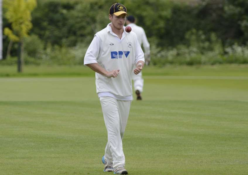 PIVOTAL PERFORMANCE: Tom Westley hit an impressive 80 with the bat as Mildenhall overcame Halstead