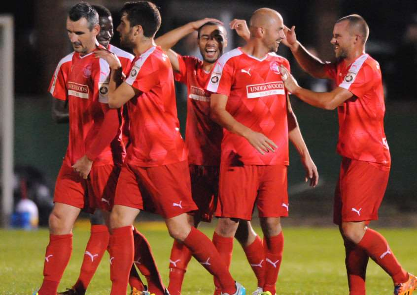 Hemel Town are hoping to replicate last year's FA Cup run. Picture (c) Terry Rickeard