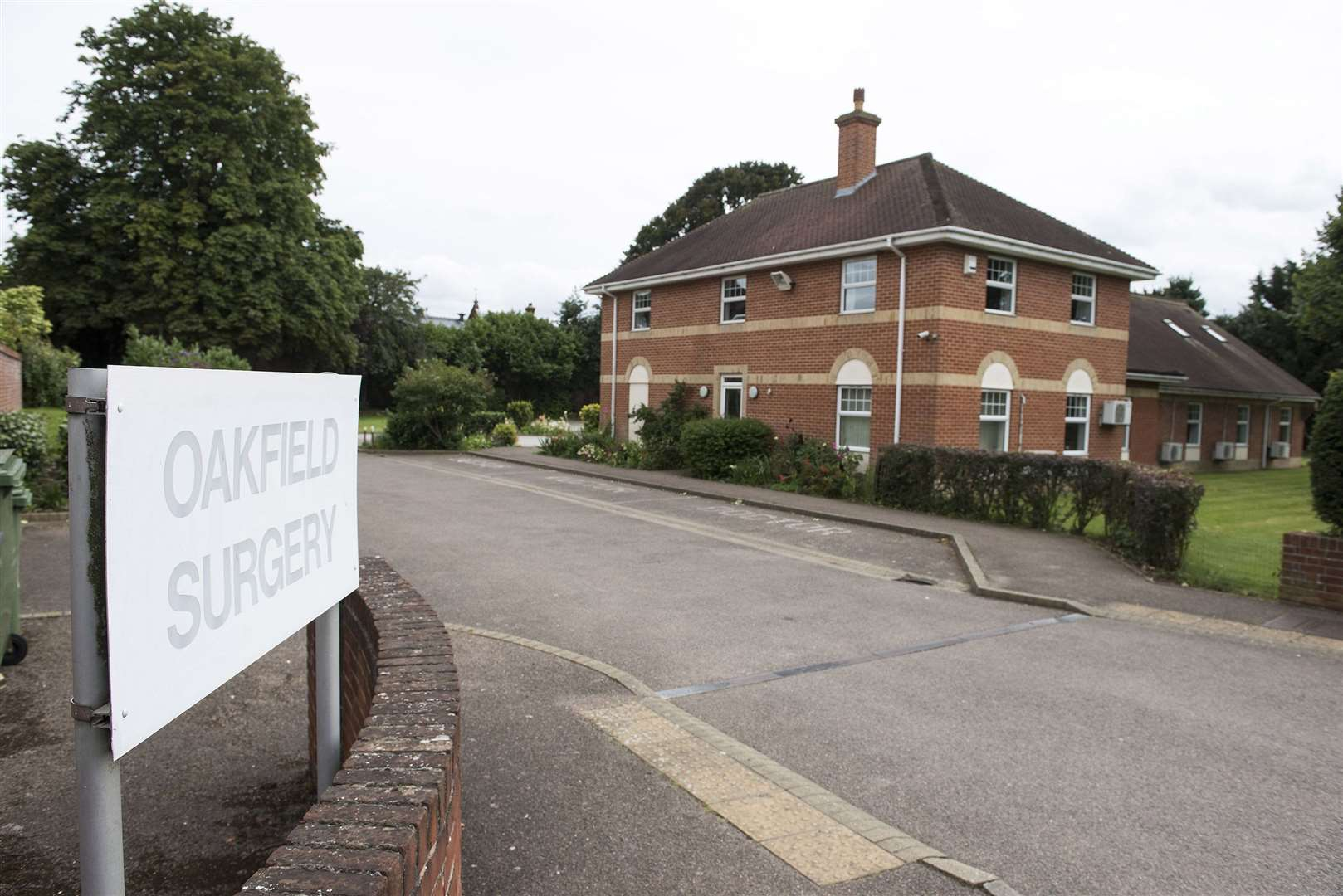 Oakfield Surgery moved out of its Vicarage Road location, pictured above, earlier this year. Picture: Mark Westley