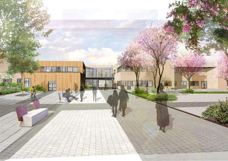 Mildenhall Hub artist impression. Picture: Concertus Design & Property Consultants Ltd.