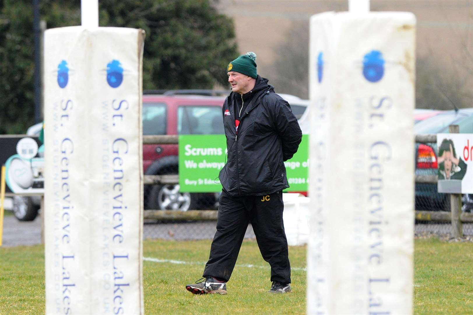 RUGBY - Bury St Edmunds v Henley Hawks..Pictured: Head Coach Jon Curry ....PICTURE: Mecha Morton. .. (5186223)