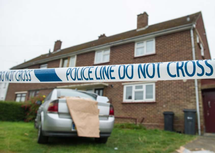 "The scene at a house in Halstead Essex where a 3 year old boy was killed by a dog. See Masons copy MNBITE: The boy who died after being bitten by a dog was three-years-old, police have confirmed. He was airlifted to Addenbrooke's Hospital in Cambridge, Cambs., where he died from his injuries. An Essex Police spokesman said: ""The boy, who is aged 3, was taken to hospital where he sadly died from his injuries. . ANL-160819-114747001"