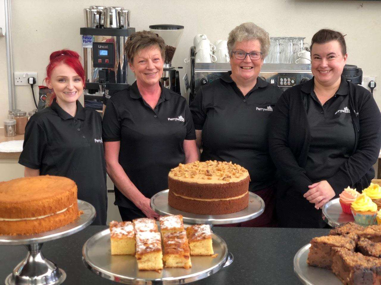 The cafe team at Perrywood, Sudbury (5235529)