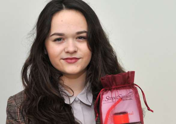 Ellis Fenwick, 16, has designed a safety pack as part of the young enterprise scheme ANL-150125-130636009