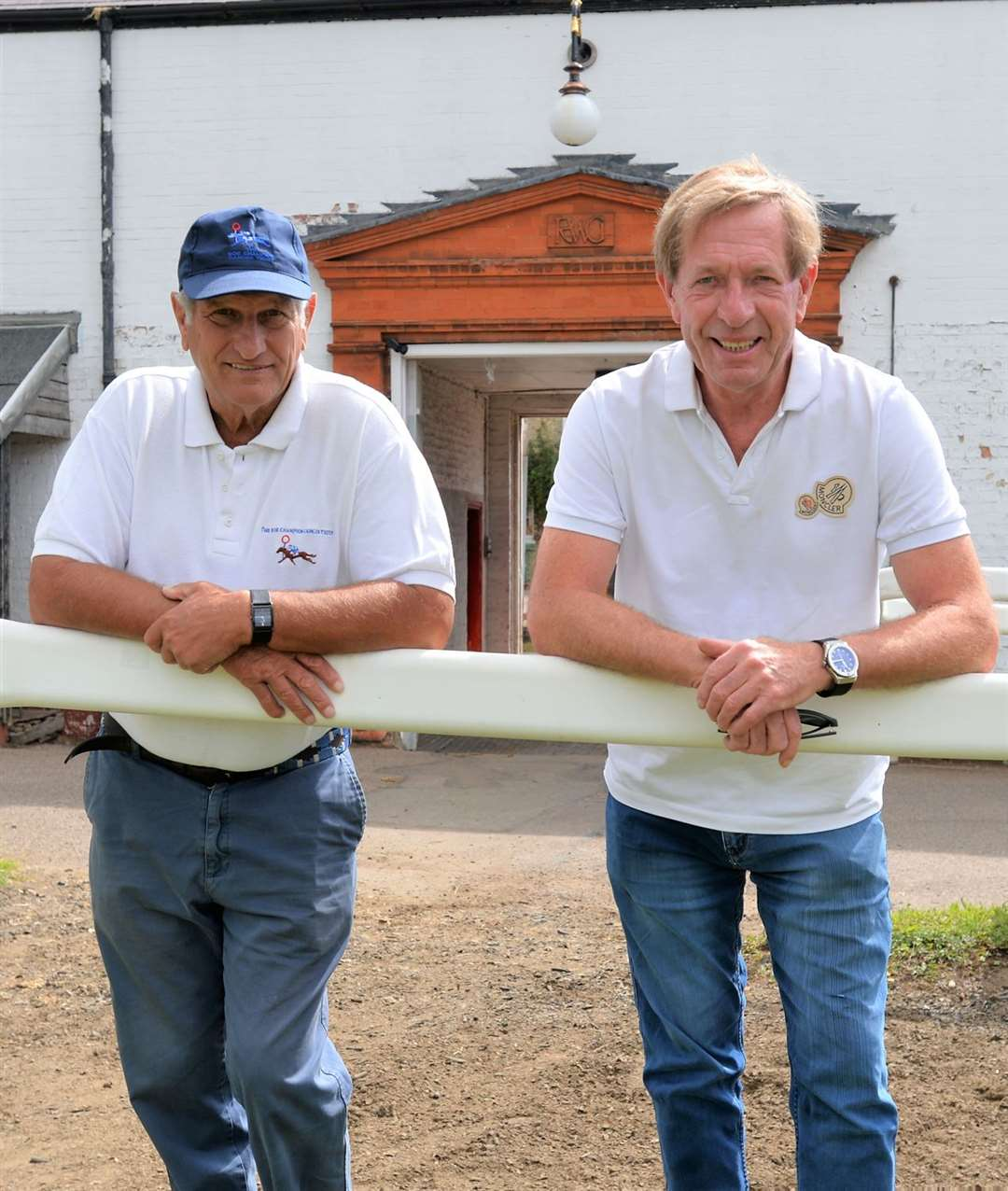 Bob Champion, left, has been awarded a CBE in the Queen's New Year's Honours list