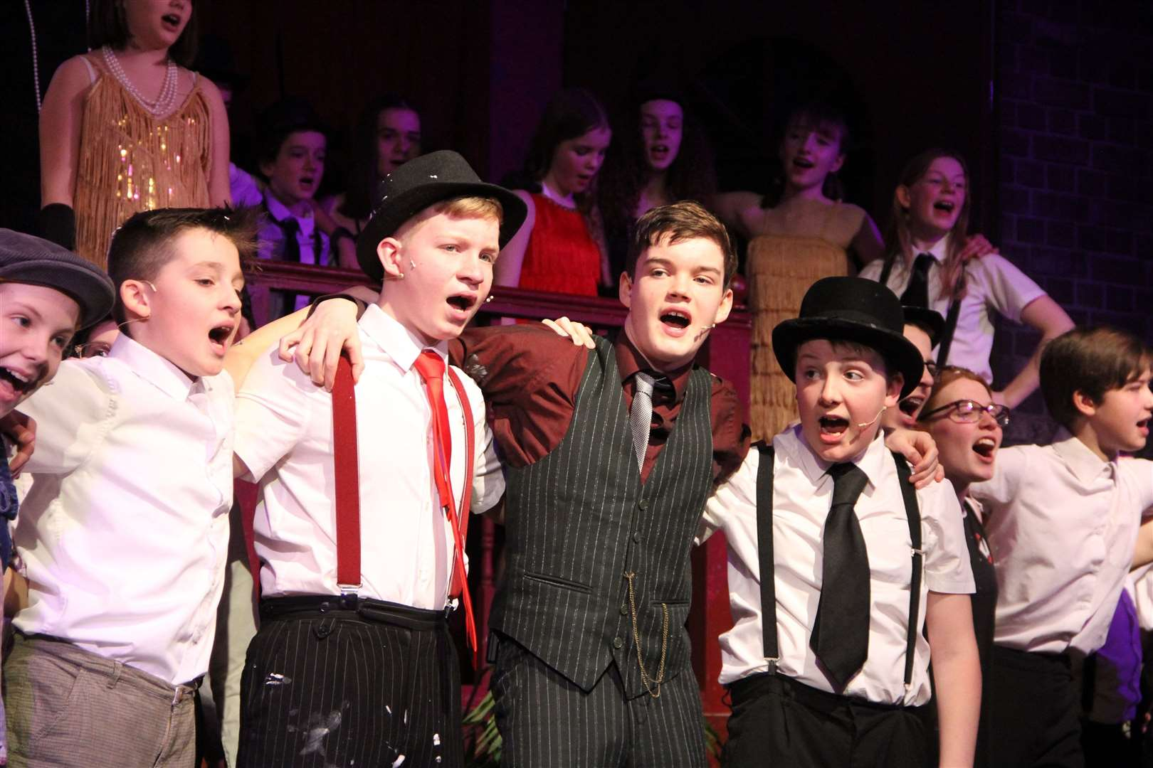Bugsy Malone production at Thomas Gainsborough School. (31247657)