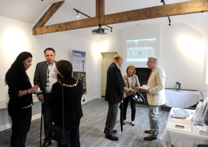 Official opening of the restored Engine House at Brandon Country Park