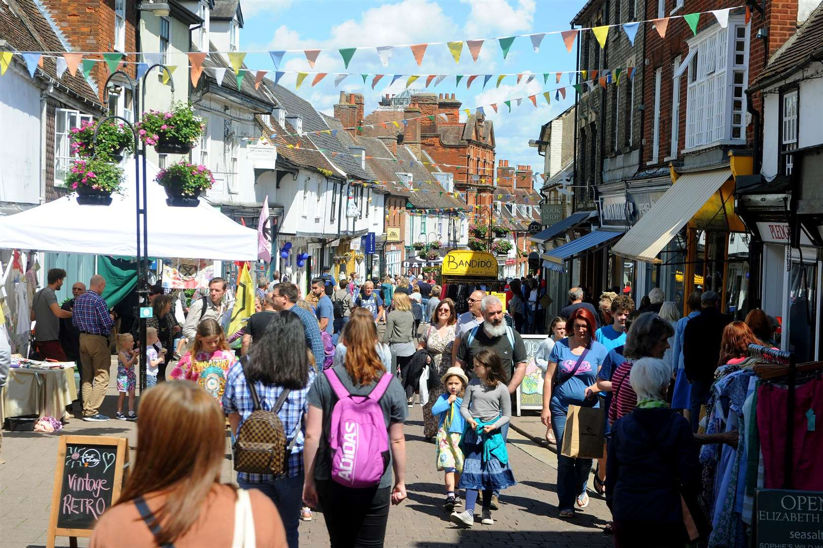 St John's Street Festival attracted more than 1,000 to the town