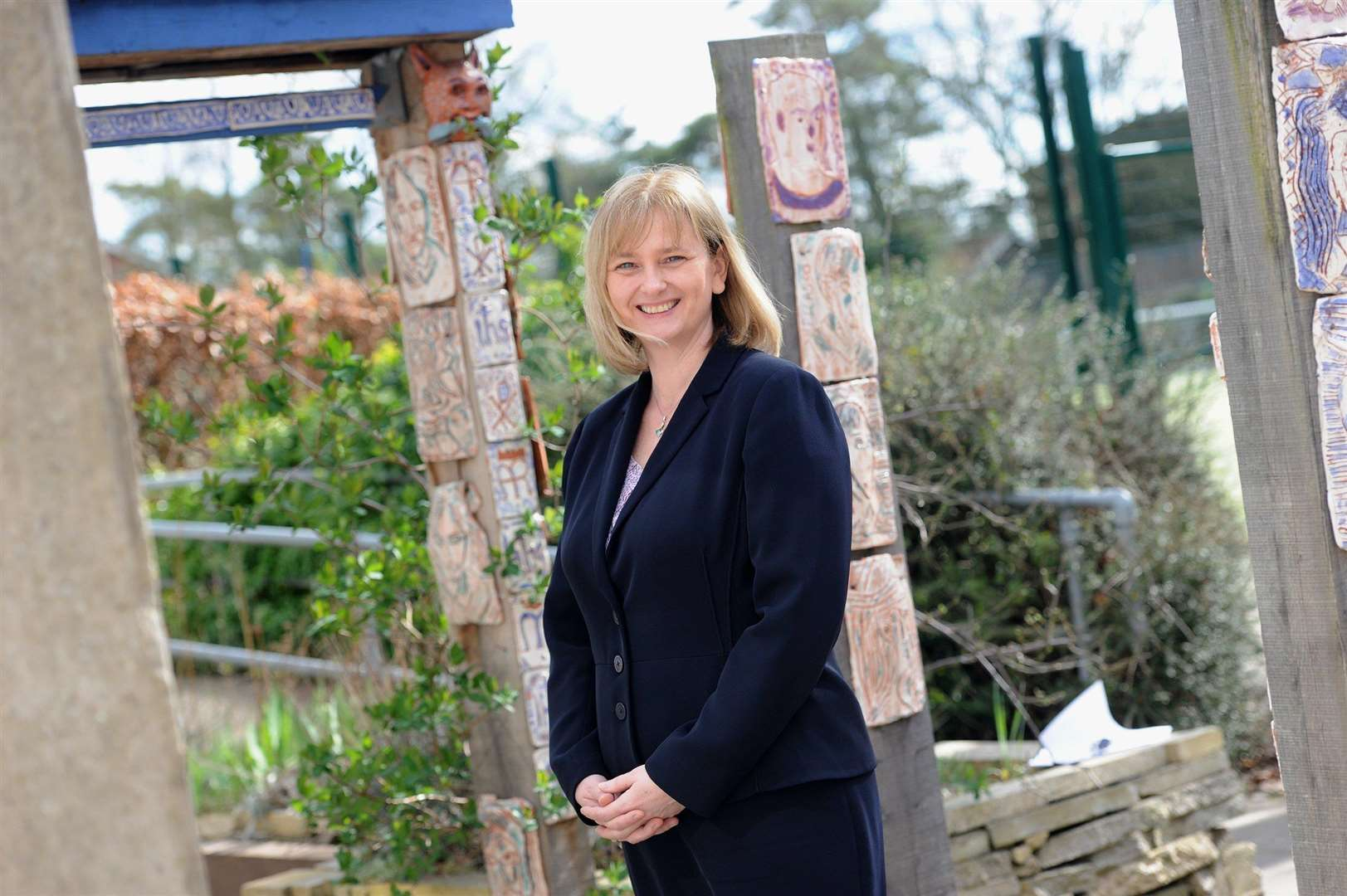 Kate Pereira, headteacher at St Benedict's Catholic School in Bury St Edmunds, is stepping down after two years in the role to take up a headship 'closer to home'. Picture: Mecha Morton.
