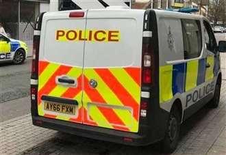 Driver hospitalised after car leaves road