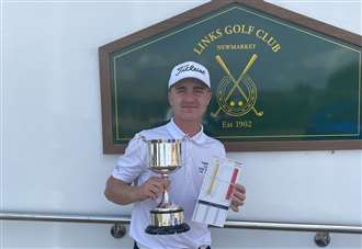 Teddy breaks course record at The Links