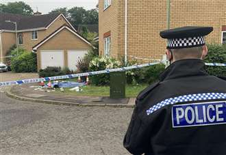 Man found stabbed in town street following incident
