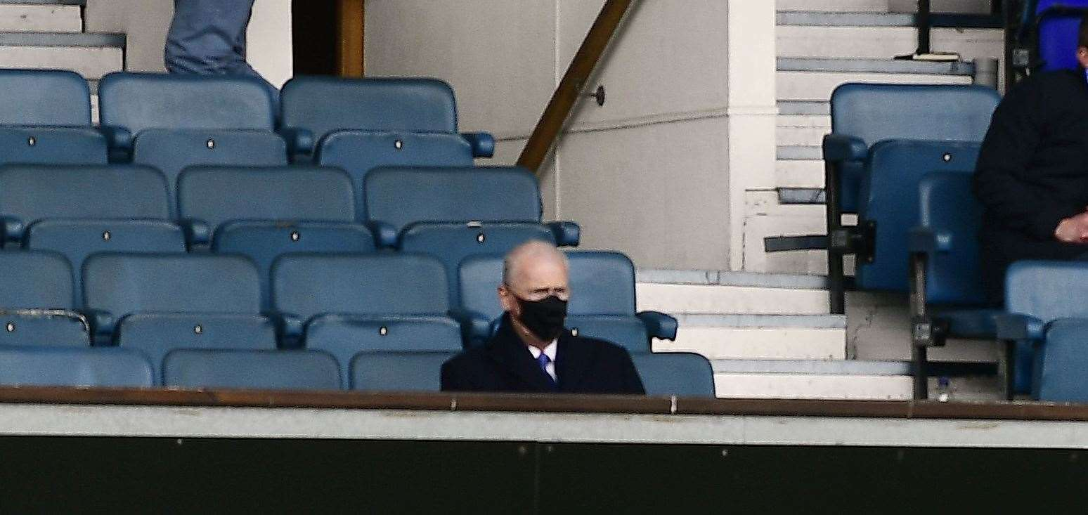 Mike O'Leary, the new chairman of Ipswich Town who attended his first game on Saturday, has previously worked with Mark Ashton Picture: Barry Goodwin