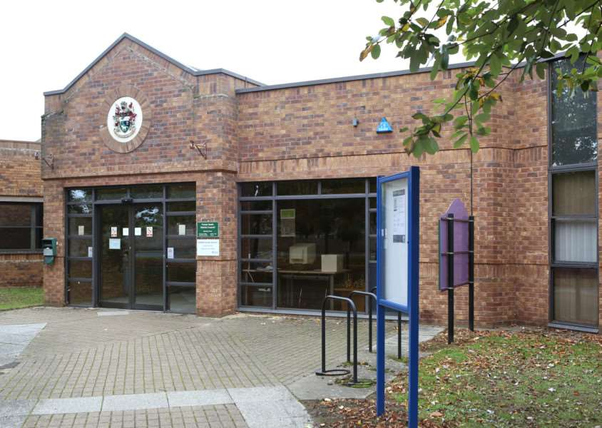 Forest Heath District Council Offices in Mildenhall