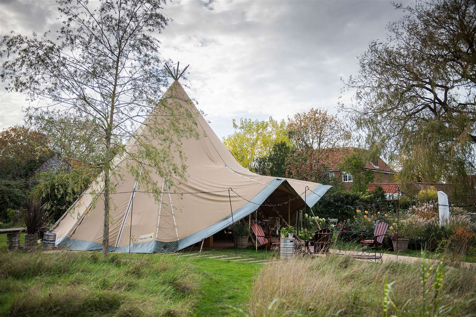 The cosy tipis have opened for the autumn / winter seasonPictures by Mark Westley