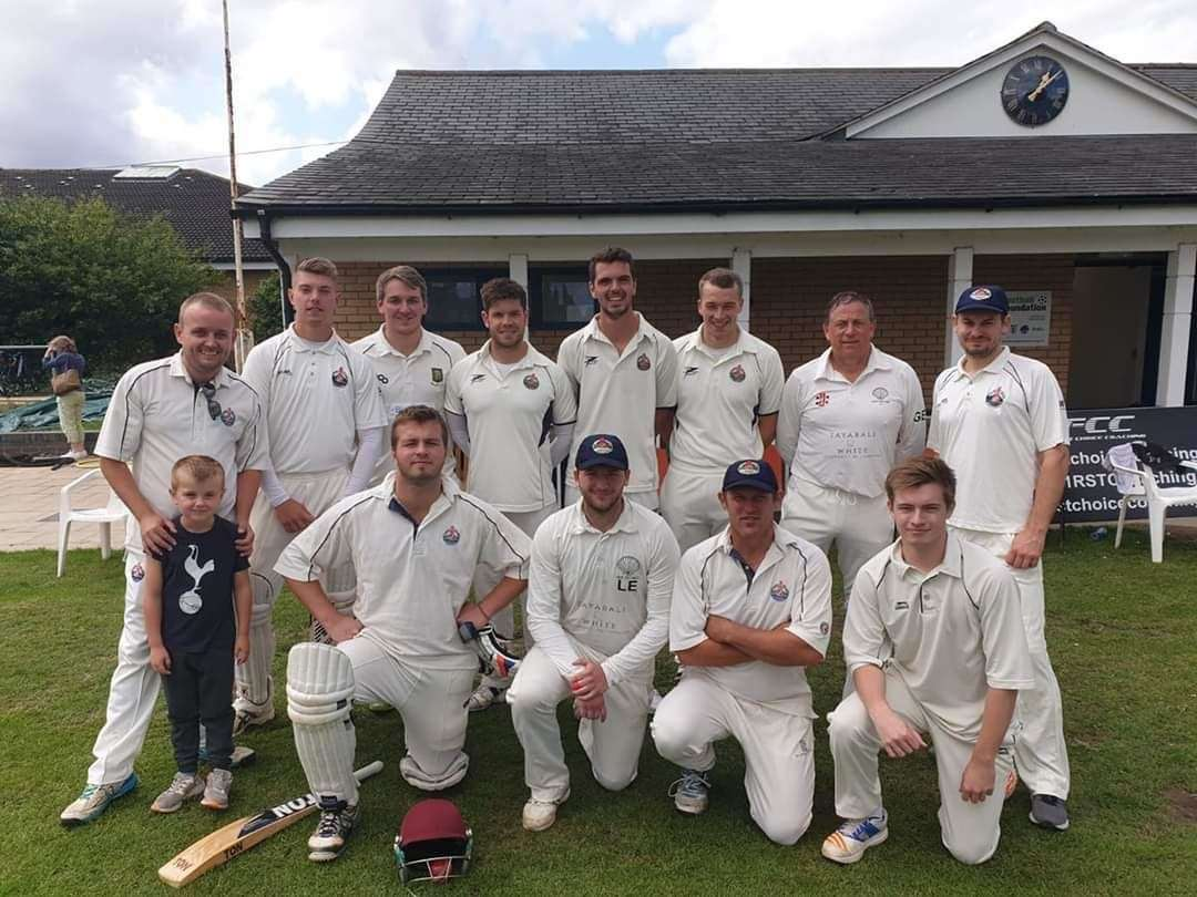 Linton Village Cricket Club pictured before their CCA Junior Cup Final against Takeley in August 2019. Contributed picture