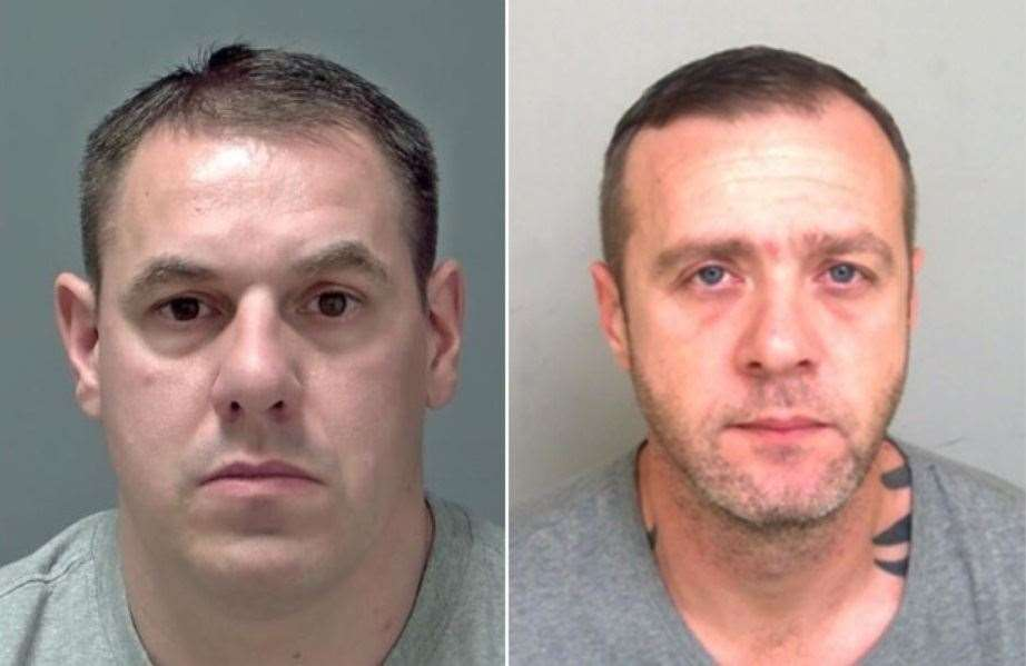 Jamie Channon, 41, of Chadfields, Tilbury, and Tony Moore, 37, of Sycamore Close, Tilbury, were each given four-year prison sentences at Ipswich Crown Court on December 5, 2019, after pleading guilty conspiracy to commit burglary. Picture supplied by Suffolk Police. (24524999)