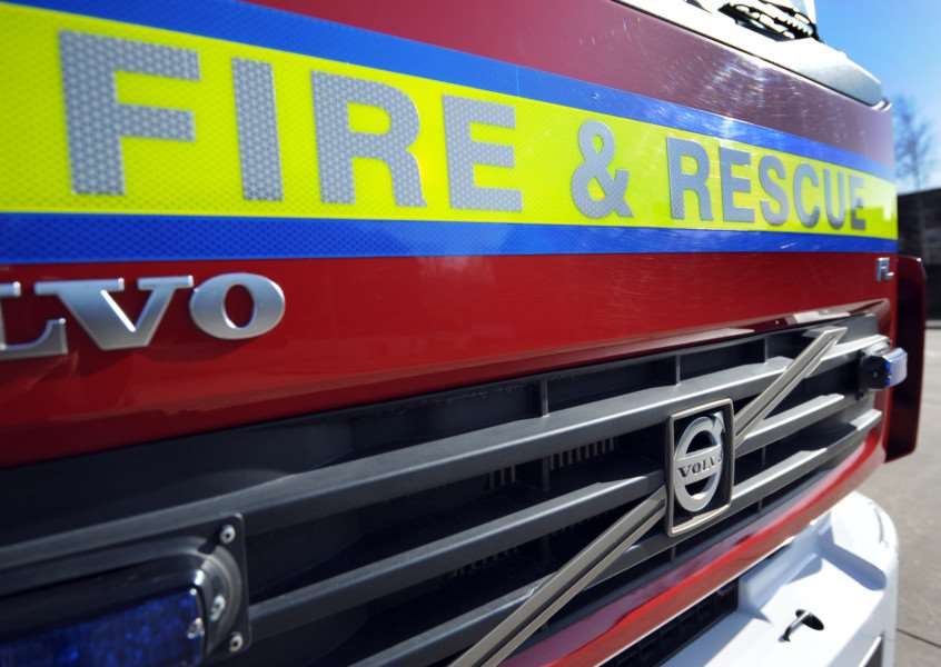 Fire crew called to cat rescue in Bacton
