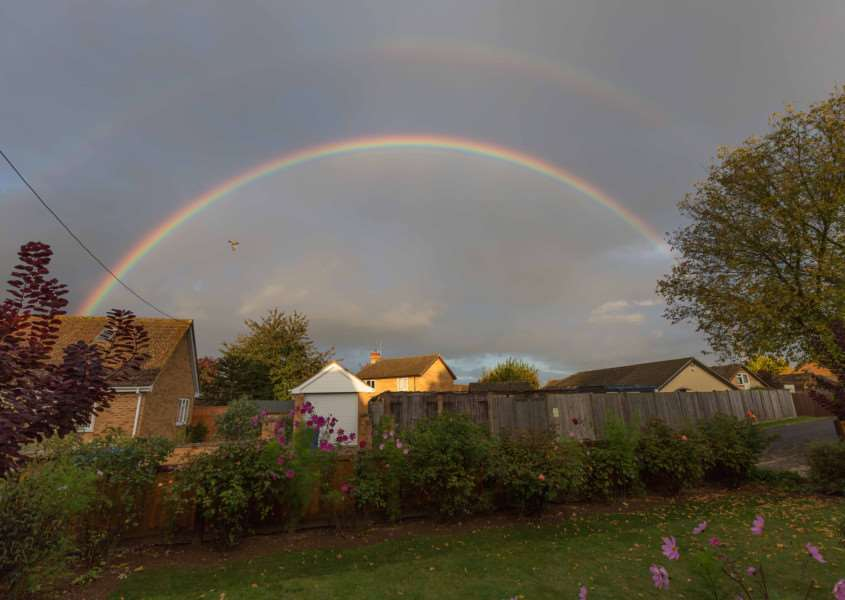 Double rainbow by Graham Matthews ANL-151125-084500001