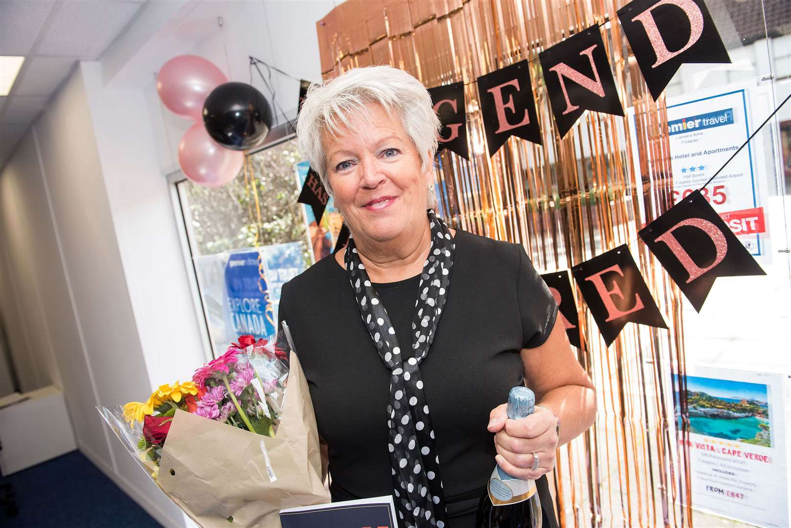 MILDENHALL: Travel agent Kelly Brooks is retiring after 43 years in travel.Premier Travel Mildenhall, Unit 15 Market Pl, Mildenhall.Travel agent Kelly Brooks is retiring after 43 years as a travel agent in Mildenhall..Picture by Mark Westley. (41302545)