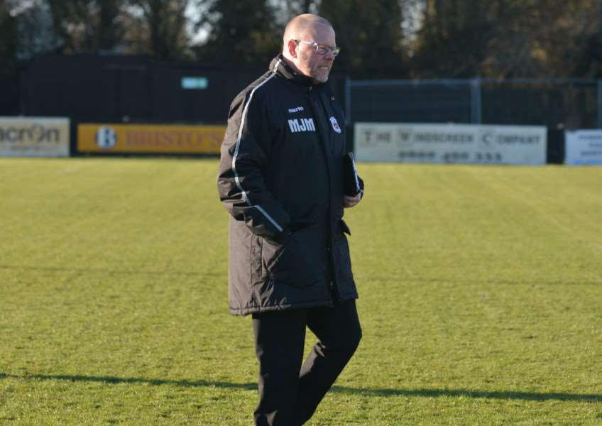 MOVING ON: Mark Morsley has decided he will step down as Needham Market manager at the end of the current season