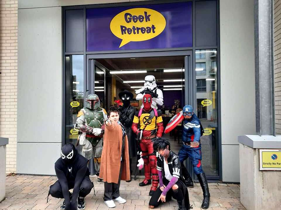 The Geek Retreat store which recently opened in Chelmsford. Picture: Geek Retreat.
