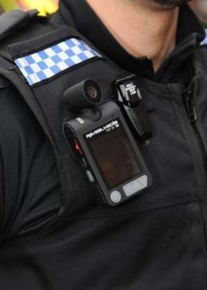 The HMIC was 'disappointed' Suffolk officers did not have body-worn video ENGPPP00120131025164651