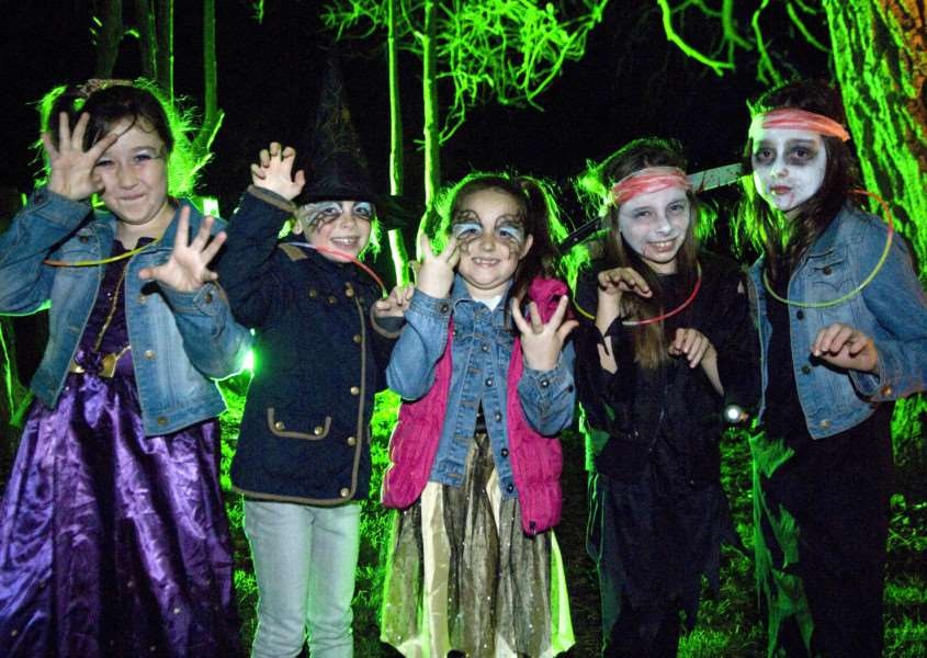 Ghostly goings on at the 2014 Halloween Trail at Haverhill's East Town Park ANL-151021-135322001