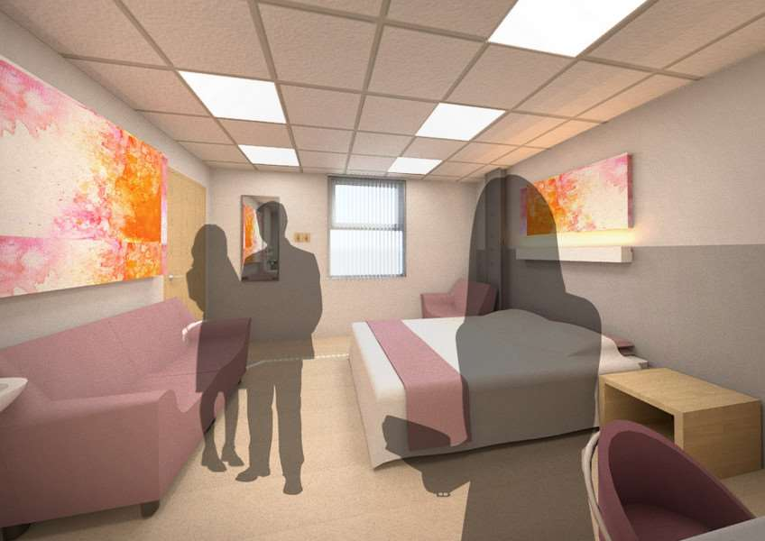 Work has begun on a bereavement room at West Suffolk Hospital ANL-160102-141526001