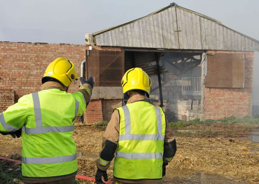 Farm arson costs farmers thousands and putshumand and animal lives at risk ANL-151004-182139001