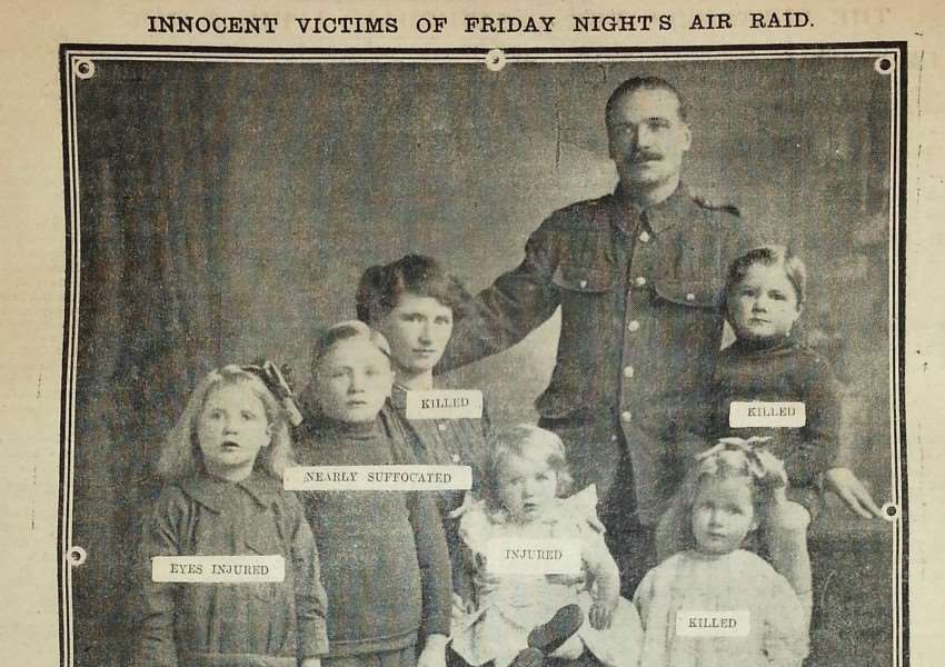 The Bury Free Press' 1916 report on the death of the Dureall family ANL-140514-093739001
