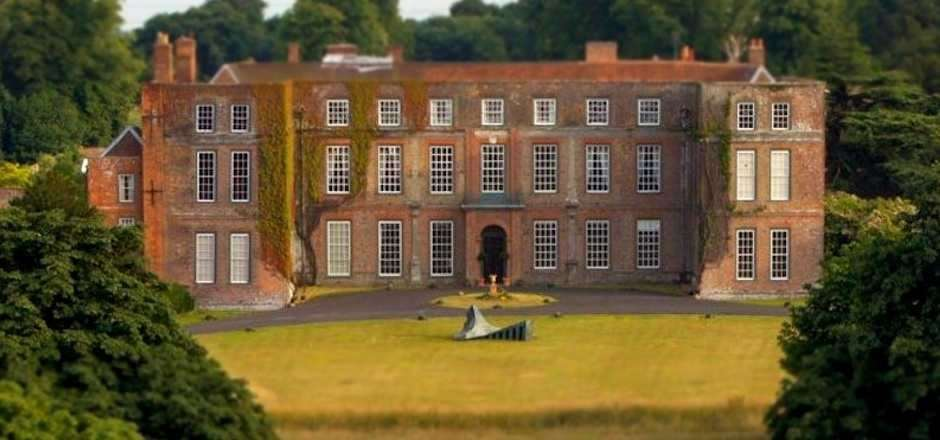 The FolkEast festival is taking place at Glemham Hall, in east Suffolk