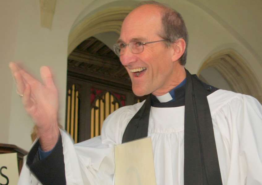 Rev Canon Gregory Webb at Chilton 2011