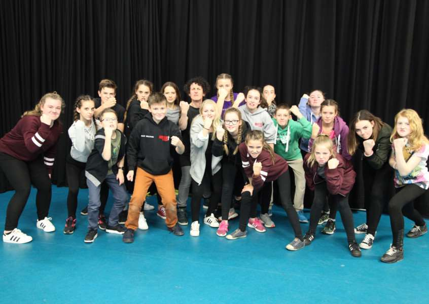 Ormiston Sudbury Academy held a special arts festival for pupils within its academy partnership. ANL-160512-170727001